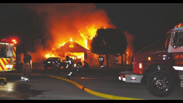 Thursday fire a total loss for family